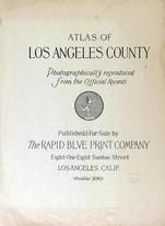 Title Page, Los Angeles County 1950c